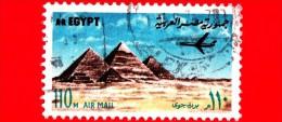 EGITTO - Usato - 1972 - Piramidi Di Giza - UNESCO Patrimonio Mondiale Dell'Umanità - 110 - Posta Aerea - Posta Aerea