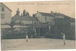 RILLY LA MONTAGNE - Villa Robert Liliane - Tennis - Carte En L'état - Rilly-la-Montagne