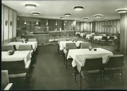 Oberhof Groß-Gatstätte Oberer Hof Mocca- Und Aperitif-Bar Innen Sw Bild-Verlag 1972 09 11 08 144 - Hotels & Gaststätten