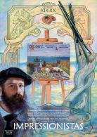 MOZAMBIQUE 2013 - Impressionists, C. Monet - YT BF657, Mi Bl.726 - Impressionisme