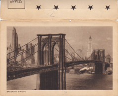 Brooklyn Bridge , New York City , 10-30s / Statue Of Liberty - Ponti E Gallerie