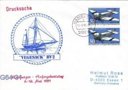 Vegelsack BV2 - Hamburger Hafengeburtstag Posted Hamburg 1991 (G64-31) - Ships