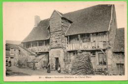 45 GIEN. Ancienne Hôtellerie Du Cheval Blanc - Petite Animation - Gien