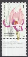 Nederland - 22 April 2014 -  Orchideeën Van Het Gerendal - Zegel 10 Uit Velletje - Postfris/ungebraucht/unus Ed - Periode 2013-... (Willem-Alexander)