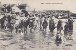 44  BATZ   PLAGE Vers PIERRE LONGUE    ENFANTS à La MER  Costumes De BAINS élégants - Batz-sur-Mer (Bourg De B.)