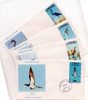 4 Plis En 1° Jour Du 5 / 9 / 1978 ( Oiseaux De Wallis Et Futuna ) - Covers & Documents