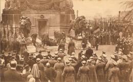 BRUXELLES-DEPOUILLE SOLDAT INCONNU -COLONNE DU CONGRES-GUERRE 1914/1918-militaire-miltary - Guerre 1914-18