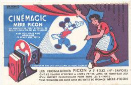 BU 889 / BUVARD  CINEMAGIC  MERE PICON  LES FROMAGERIE PICON A ST FELIX  HTE SAVOIE - Cinéma & Théatre
