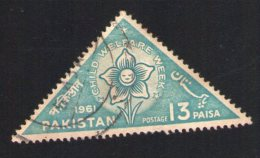 Pakistan 1961 Oblitéré Rond Used Child Welfare Week Semaine Protection Enfance - Pakistan