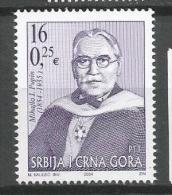 Serbia And Montenegro 2004. Mihailo Pupin 150th Birth Anniversary MNH** Set - Servië