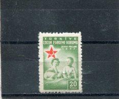 TURKEY. 1957. SCOTT RA215. CHILDREN - 1921-... République