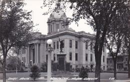 North Dakota Wahpeton Court House Real Photo - Wahpeton