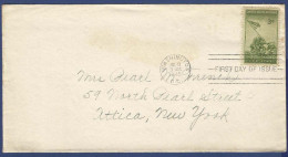 USA UNITED STATES OF AMERICA POSTAL USED FDC FIRST DAY COVER 1945 CONDITION AS PER SCAN - Vereinigte Staaten