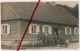 PostCard - 1915 - Rossienie In Litauen - Original Foto - Geschäftszimmer Des Etappen-Magazins Und Fernsprechamt - Lituanie