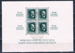 1937  Blockausgabe Reichsparteitag Nürnberg Block Nr. 11 - Blocks & Kleinbögen