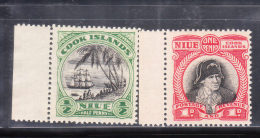 Cook Islands 1944-46 Captain James Cook 2v MNH - Cook