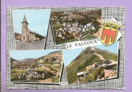 Dépt 15 - LE FALGOUX - Multivues - Blason  - Flamme De Mauriac - Oblitérée En 1967 - Photo Véritable - France
