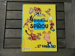 Spirou Et Fantasio -   1 - 4 Aventures De Spirou - Franquin - Dos Rond - Spirou Et Fantasio