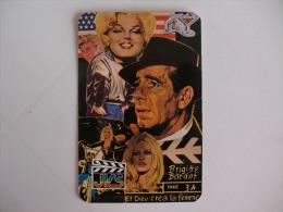 Cinema Brigitte Bardot Portuguese Pocket Calendar 1986 - Klein Formaat: 1981-90
