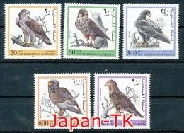 PALAESTINA  Mi. Nr.  91-95  Greifvögel - MNH - Arends & Roofvogels