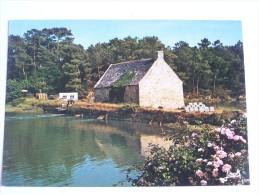ANCIEN MOULIN A MER 1976 COULEUR GLACE - Bretagne