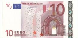 Greece Letter Y EUR 10 Printercode N001 Duisenbeg UNC - EURO
