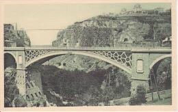 CPA Constantine - Pont D'El Kantara Et Pont De Sidi M'Cid  (5318) - Konstantinopel