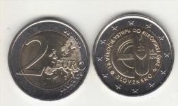 SLOVAKIA 2 € 2014 10 Years In EU - Slovakia