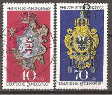 BRD 1973 // Mi. 764/765 O (009..202) - BRD