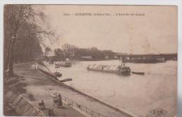 AUXONNE   L'entrée Du Canal - Auxonne