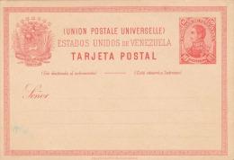 VENEZUELA 1897? - 10 Centavos Ganzsache Auf Pk ** - Venezuela