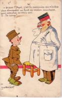 M'SIEUR LE MAJOR - A.G.BADERT - UN TROU D'EPINGLE. - Humour