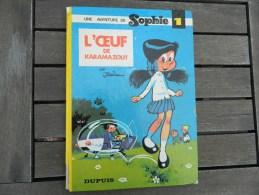 Sophie -  1 - L´oeuf De Karamazout - Par Jidéhem - EO - Sophie