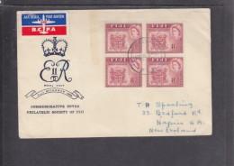 Fiji: 1953 Royal Visit First Day Cover - Fiji (...-1970)