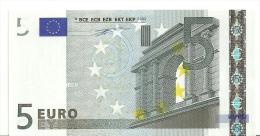 France Letter U EUR 5 Printercode L010E2 Duisenbeg UNC - EURO