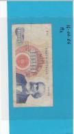 ITALIA -  BANCONOTA DA  LIRE 1000 VERDI 1° TIPO 14 Gennaio1964  R2 MOLTO RARA - Collezioni