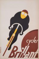 MAGNET (IMAN PARA NEVERA) SIZE.7X5 CM. APROX - Vintage Ciclyng - Reklame