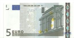 France Letter U EUR 5 Printercode L024F4 Trichet UNC - EURO