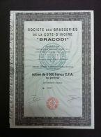 SOCIETE DES BRASSERIES DE LA COTE-D´IVOIRE BRACODI LOT 2 - Actions & Titres