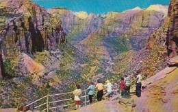 Utah Zion National Park Switchbacks Mount Carmel Highway