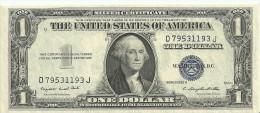 USA $1 Silver Series 1935G Wiht Motto FR1617 UNC (scarce) - Silver Certificates (1928-1957)
