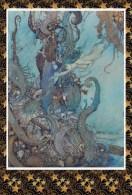 Edmund Dulac The Little Mermaid Postcard - Autres