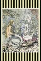 Ivan Bilibin Little Mermaid Postcard - Autres