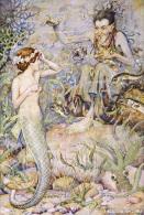 Monro S. Orr Little Mermaid Postcard - Autres