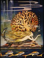 Jennie Harbour (1893-1959) Little Mermaid Postcard - Autres