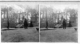 S0180 - PUY DE DÔME - CLERMONT FERRAND - Place De La Fontaine - 1911 - Photos Stéréoscopiques