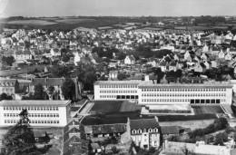 CPSM LANDERNEAU. Le Lycée Mixte Et Les Cités. En Avion Au Dessus De Landerneau. 1960 Lapie 21 - Landerneau