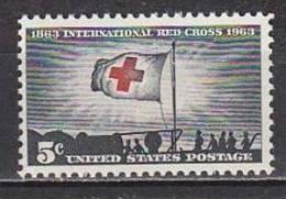 H1468 - ETATS UNIS UNITED STATES Yv N°753 ** CROIX ROUGE - Stati Uniti