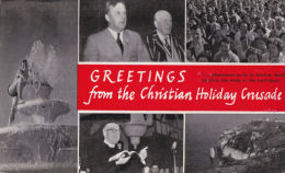 CHRISTIAN HOLIDAY CRUSADE MULTI VIEW POSTCARD - Religions & Beliefs