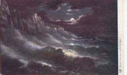 CLIFF SCENERY. TUCK OILETTE  1491 - Dover